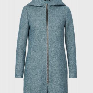 Трикотажное пальто с капюшоном O`Stin