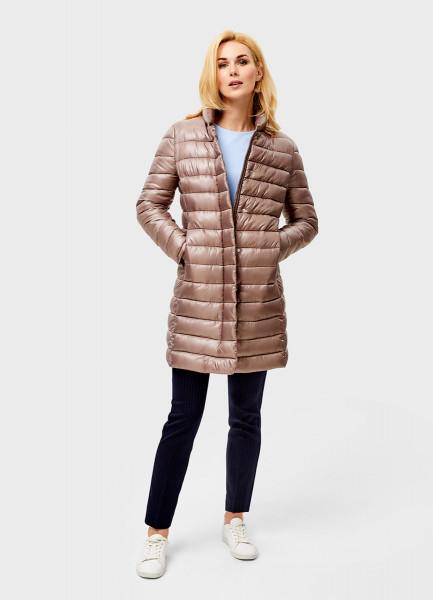 Ультралёгкое пальто с воротником-стойкой O`Stin