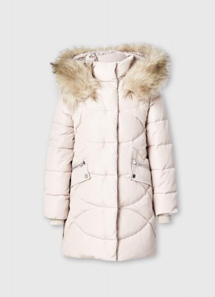 Утеплённая куртка для девочек O`Stin