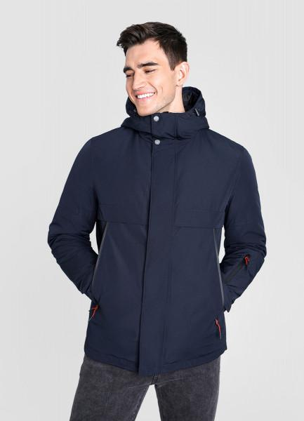 Утеплённая куртка с капюшоном O`Stin