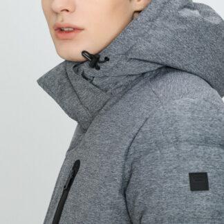 Утеплённая куртка с технологичной обработкой O`Stin