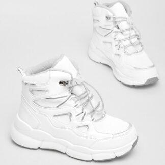 Утеплённые ботинки для девочек O`Stin