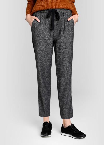 Утеплённые брюки-багги O`Stin