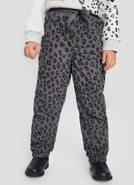 Утеплённые брюки для девочек O`Stin