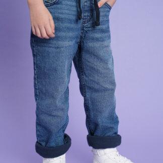 Утеплённые джинсы для мальчиков O`Stin