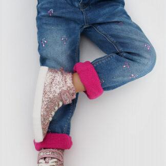 Утеплённые джинсы на флисовойподкладке O`Stin