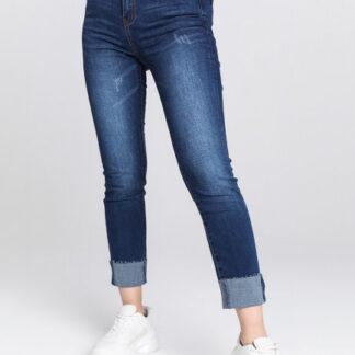 Узкие джинсы с подворотами O`Stin