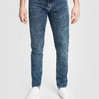 Узкие премиальные джинсы в