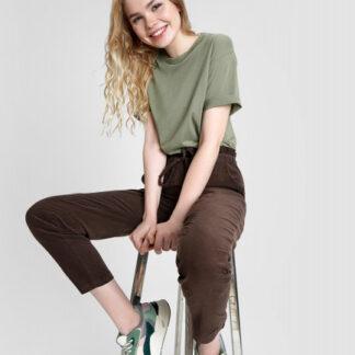 Вельветовые свободные брюки O`Stin