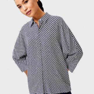 Вискозная рубашка с принтом O`Stin